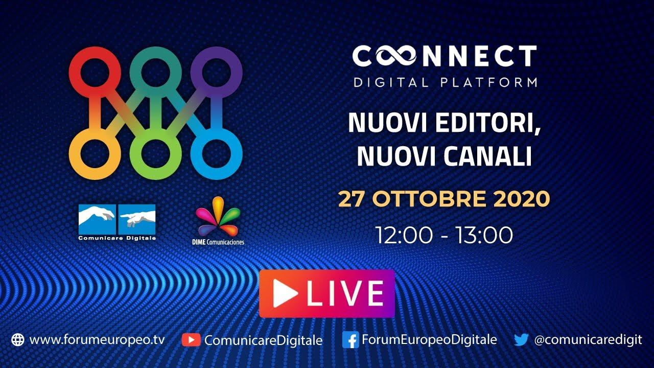 LIVE | Nuovi Editori, Nuovi Canali Tech Talk. Diretta streaming Digital-News.it