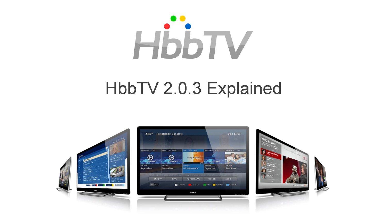 Associazione HbbTV pubblica nuova versione della specifica (HbbTV 2.0.3)