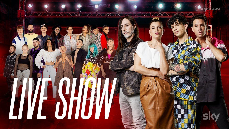 X Factor 2020, gli inediti aprono i Live Show su Sky Uno e NOW TV