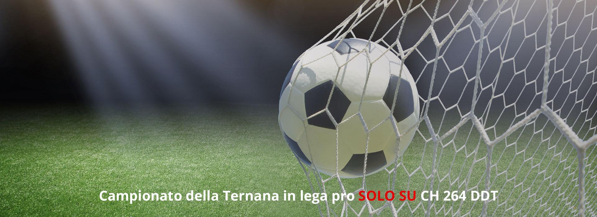 Serie C, la Ternana in diretta su Cusano Italia Tv (canale 264 DTT)