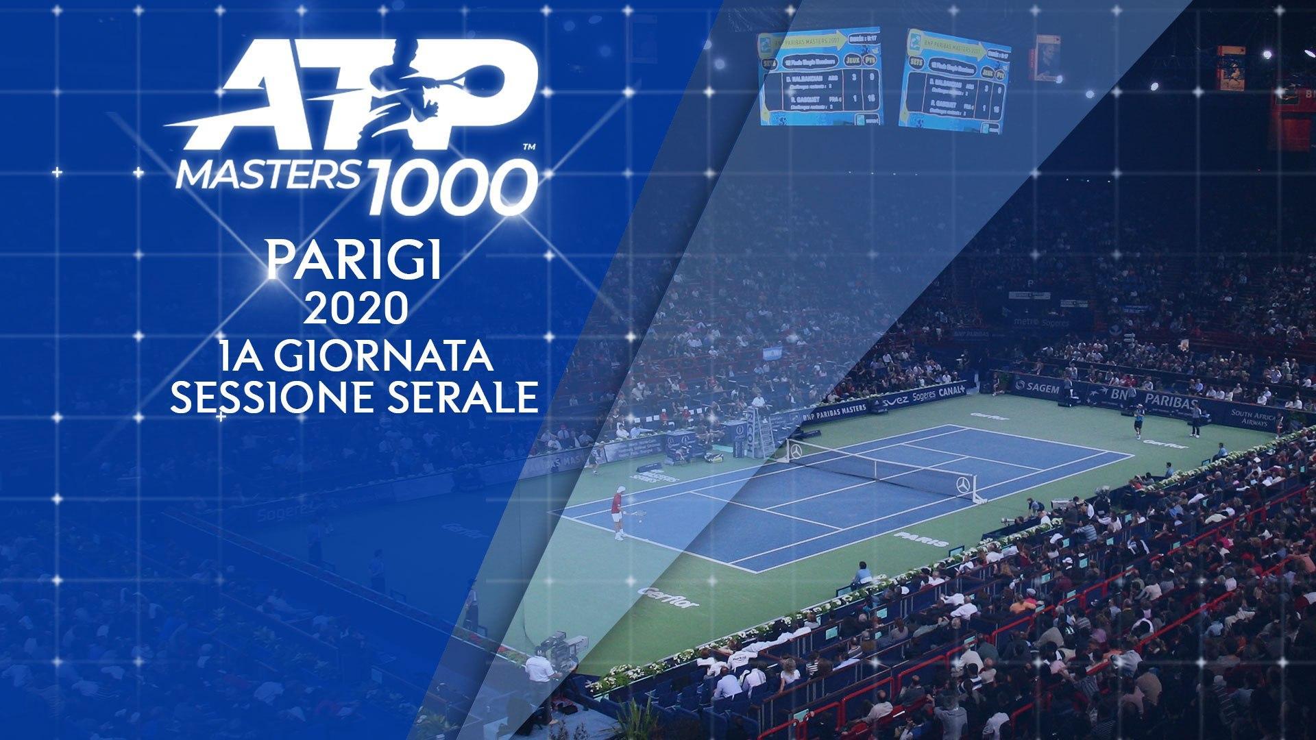 Tennis, ATP Masters 1000 - Parigi Bercy 2020 su Sky Sport