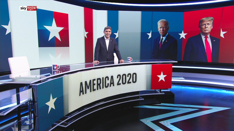 «America 2020» - in diretta con Sky TG24, La Stampa e La Repubblica