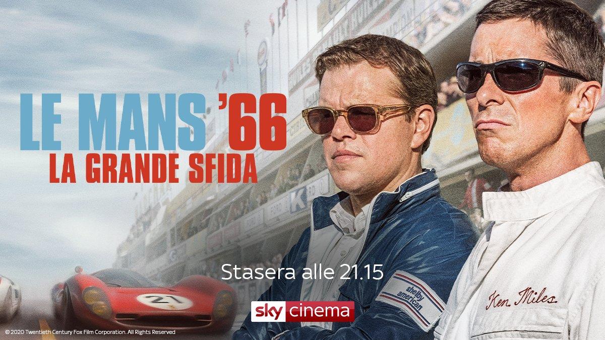 Le Mans 66 - La Grande Sfida, su Sky Cinema il leggendario duello Ford - Ferrari