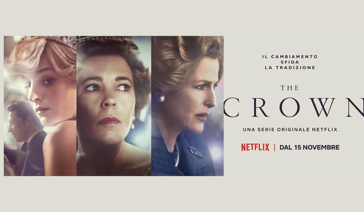 La quarta stagione di The Crown disponibile su Netflix