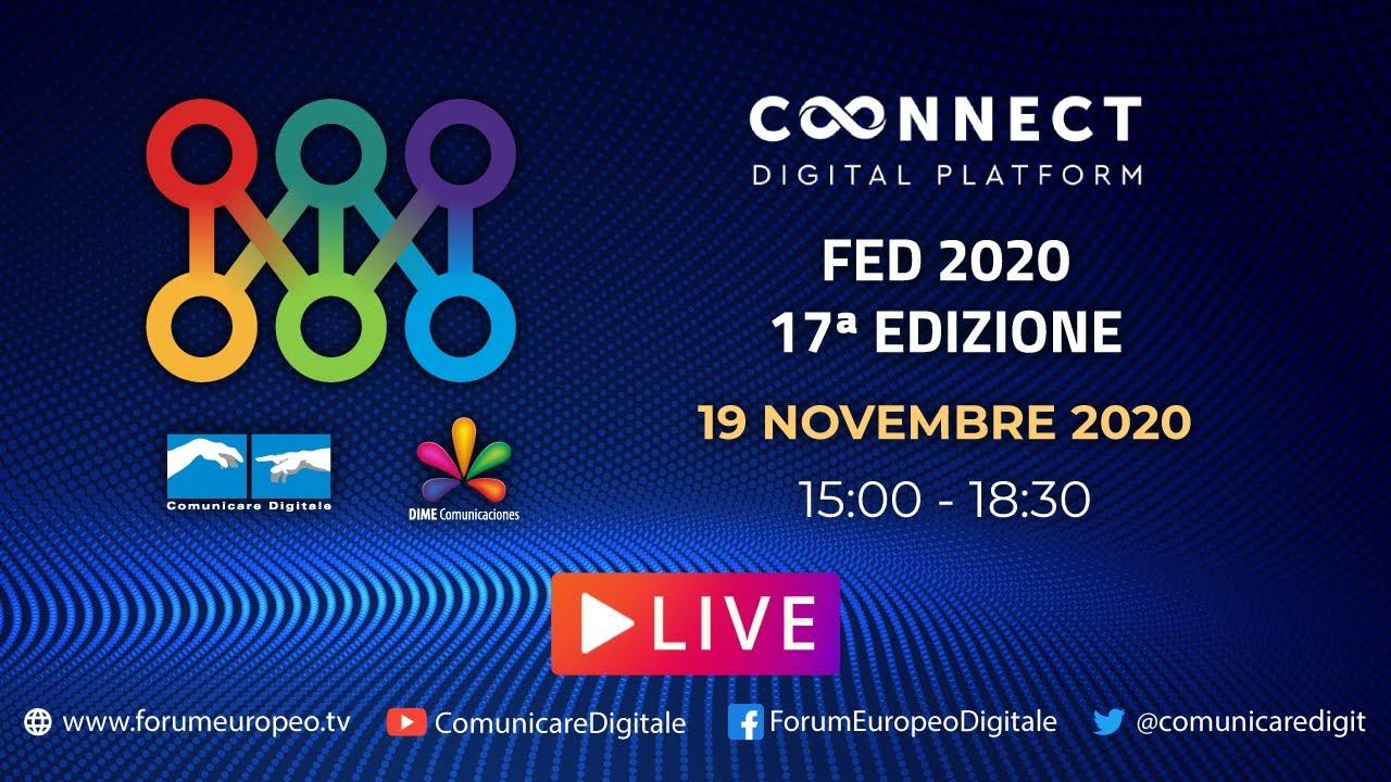17 Forum Europeo Digitale Lucca 2020 in diretta streaming Digital-News.it