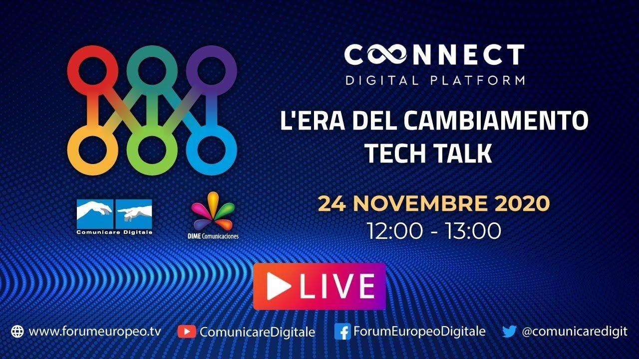 LIVE | Era del Cambiamento Tech Talk (#13). Diretta streaming Digital-News.it