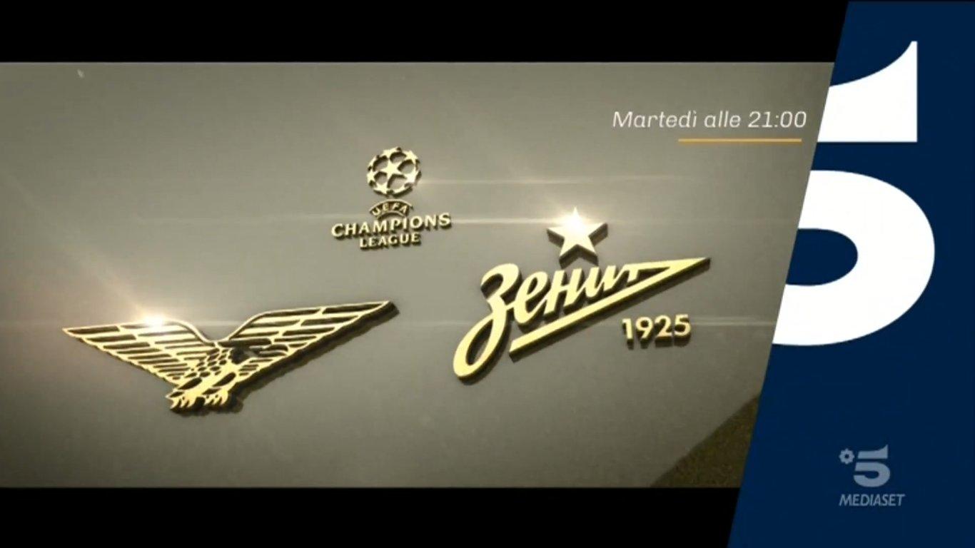 Champions, Lazio - Zenit Diretta Canale 5, Telecronisti Sport Mediaset