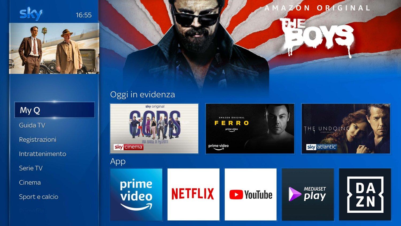 Accordo Sky Amazon - Prime Video su Sky Q e NOW TV su Fire TV Stick