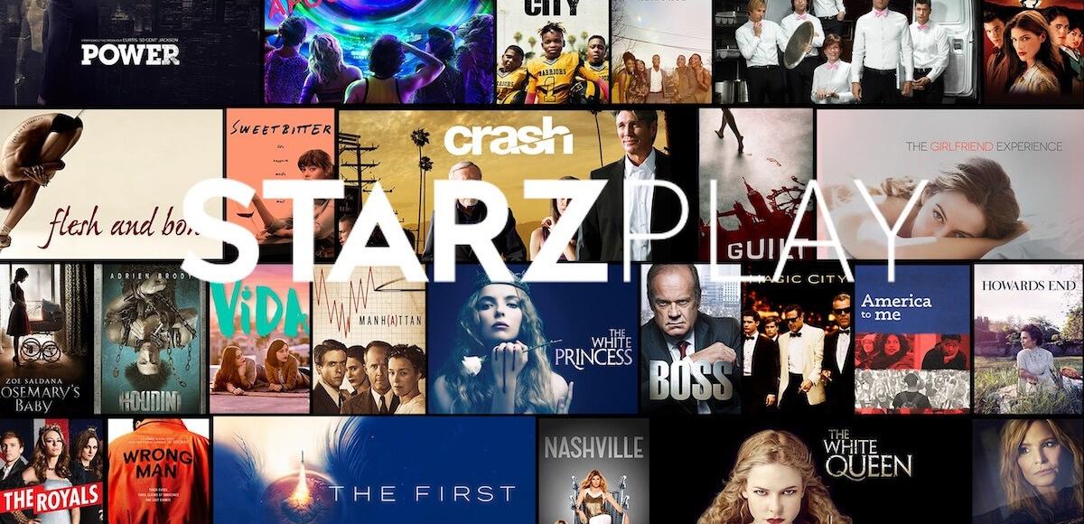 Vodafone TV, da oggi disponibili i contenuti del servizio streaming Starzplay
