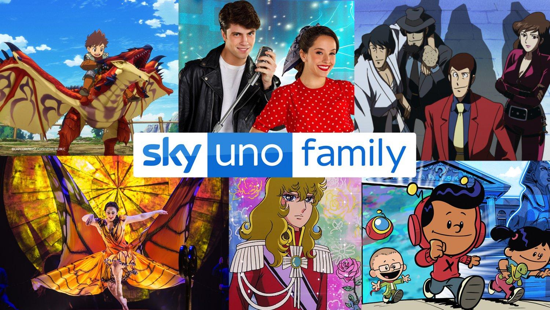 Sky Uno Family, un canale per riunire tutta la famiglia davanti alla tv