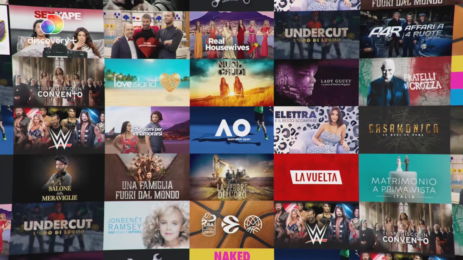 Boom del video on demand, in arrivo Discovery+ e Champions su Amazon Prime