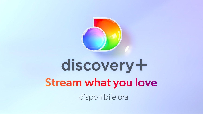 Disponibile anche in Italia discovery+, il nuovo servizio streaming
