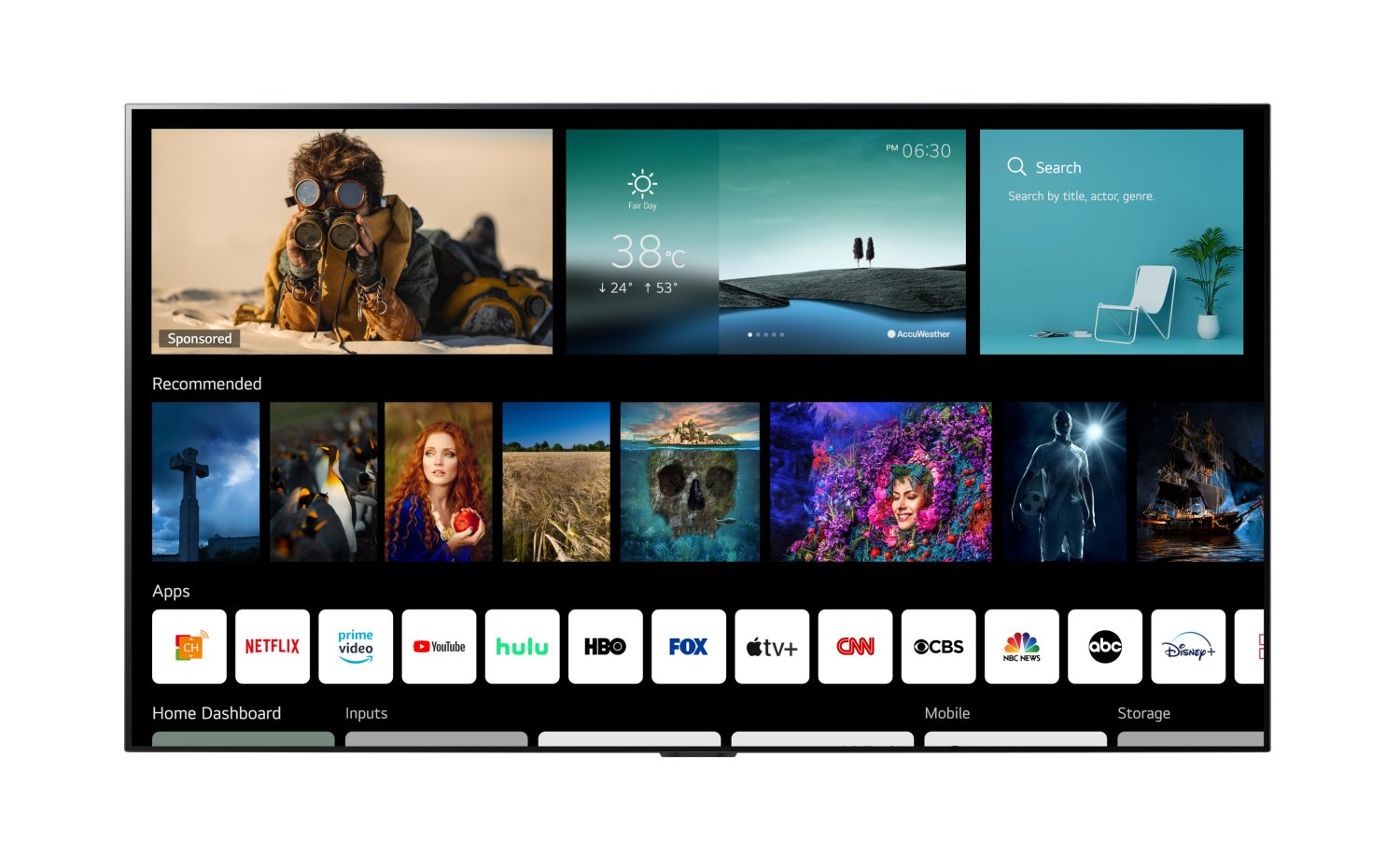 LG introduce il nuovo sistema operativo per Smart TV, webOS 6.0