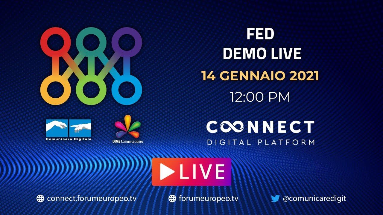 LIVE | FED Demo 2021 #1. Diretta streaming ore 12 Digital-News.it