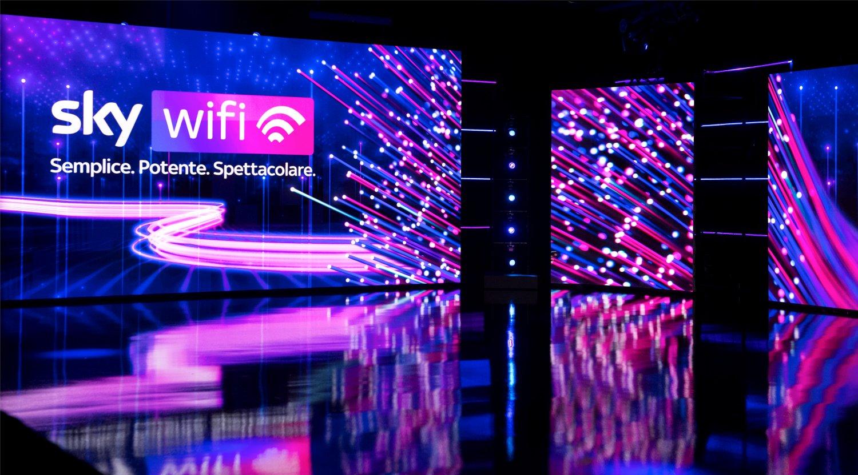 Triplica la copertura di Sky WiFi, da oggi in oltre 1500 città e grandi comuni