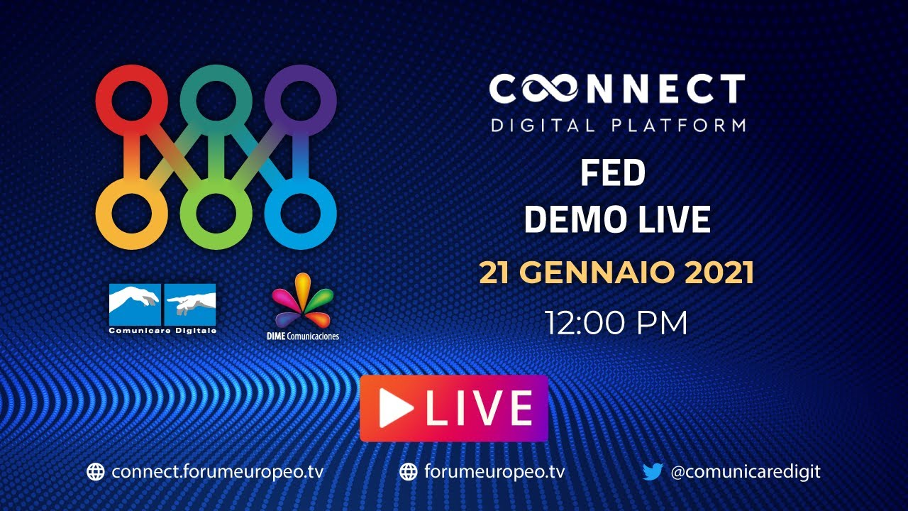 LIVE | FED Demo 2021 #2. Diretta streaming ore 12 Digital-News.it