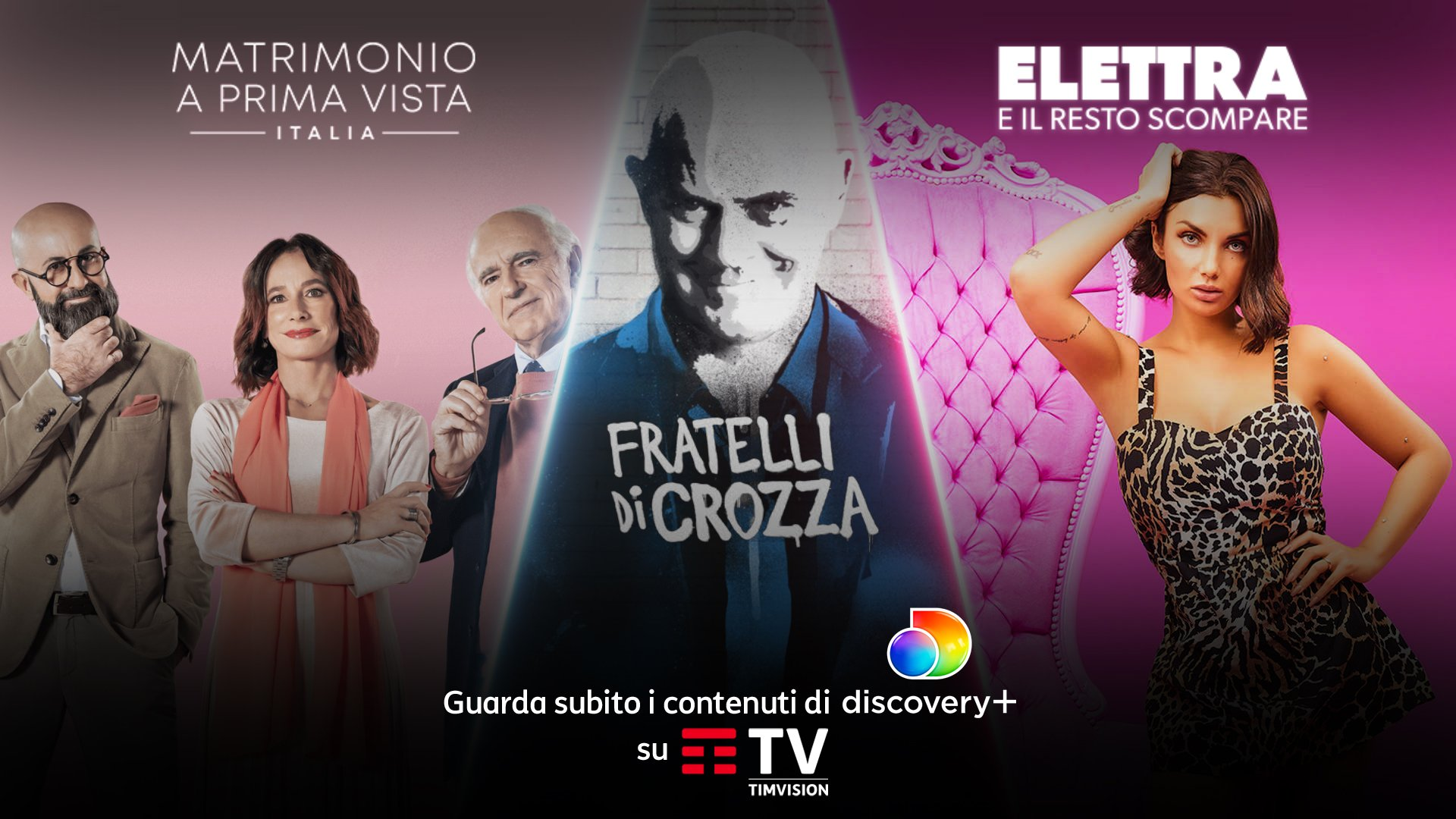 Tim e Discovery lanciano Discovery+ dentro TIMVISION