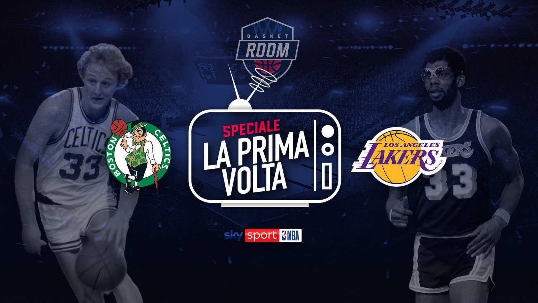 Boston - Los Angeles, la prima partita NBA trasmessa in tv ritorna su Sky Sport