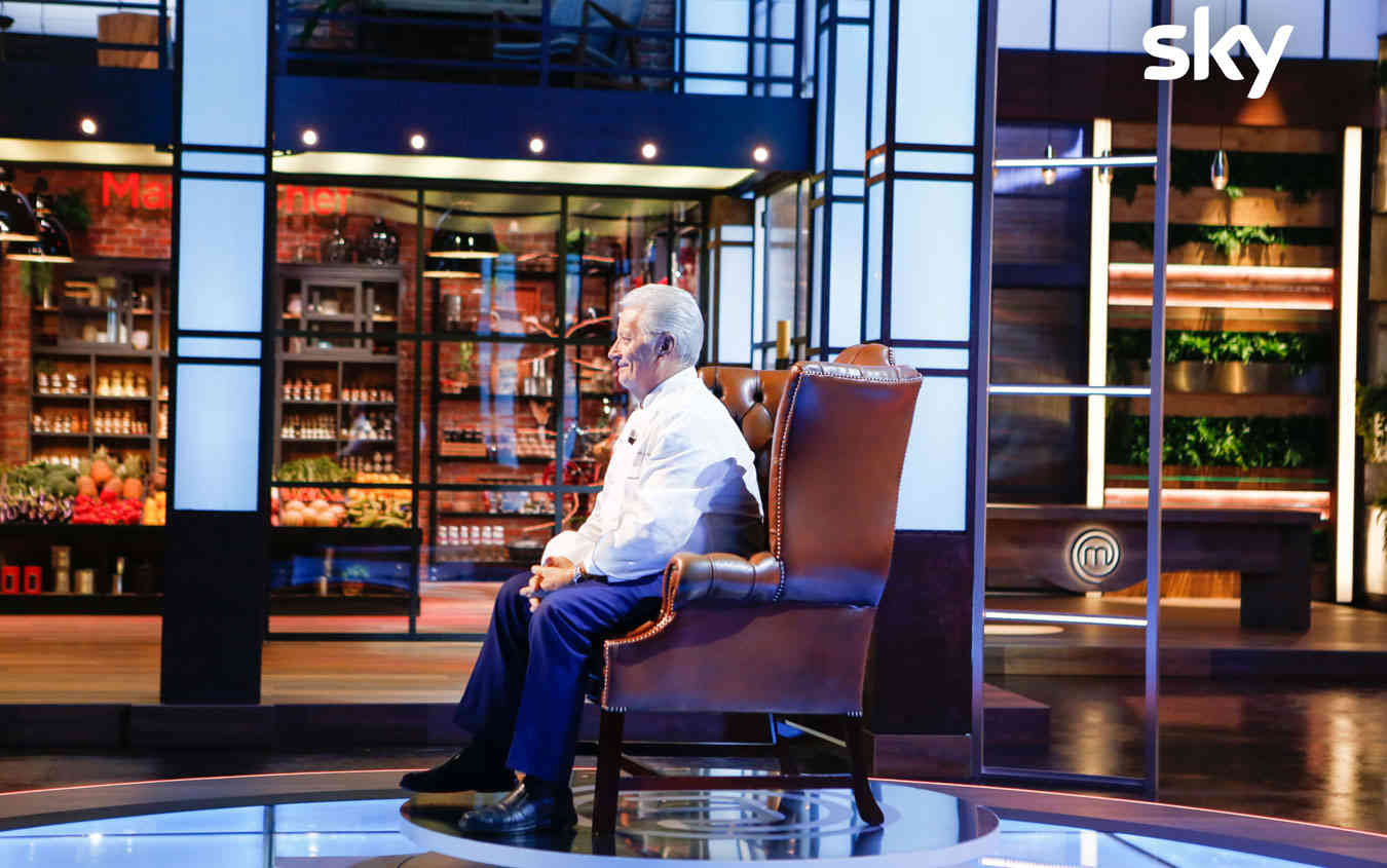 Masterchef Italia, record di ascolti su Sky Uno per la puntata con Iginio Massari