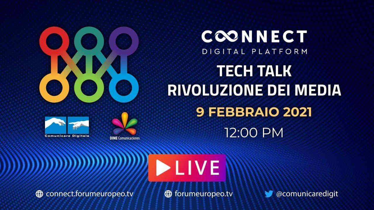 LIVE | La Rivoluzione dei Media Tech Talk. Diretta streaming Digital-News.it