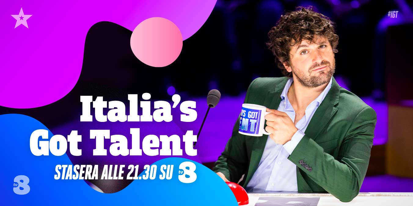 Italia's Got Talent 2021, terzo appuntamento su Sky Uno e TV8