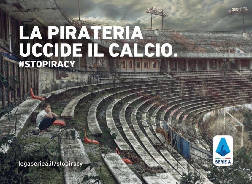 Lotta alla pirateria, altro grande risultato della Lega Serie A