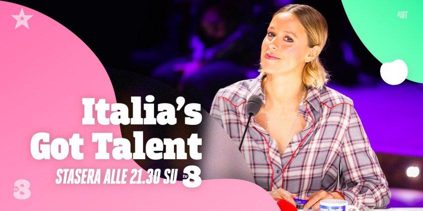 Italia's Got Talent 2021, quarto appuntamento su Sky Uno e TV8
