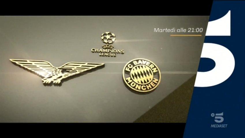 Champions, Lazio - Bayern Monaco Diretta Canale 5, Telecronisti Sport Mediaset