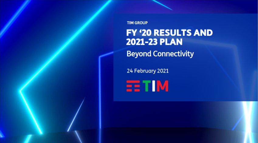 TIM approva il Piano Strategico Beyond Connectivity 2021-2023