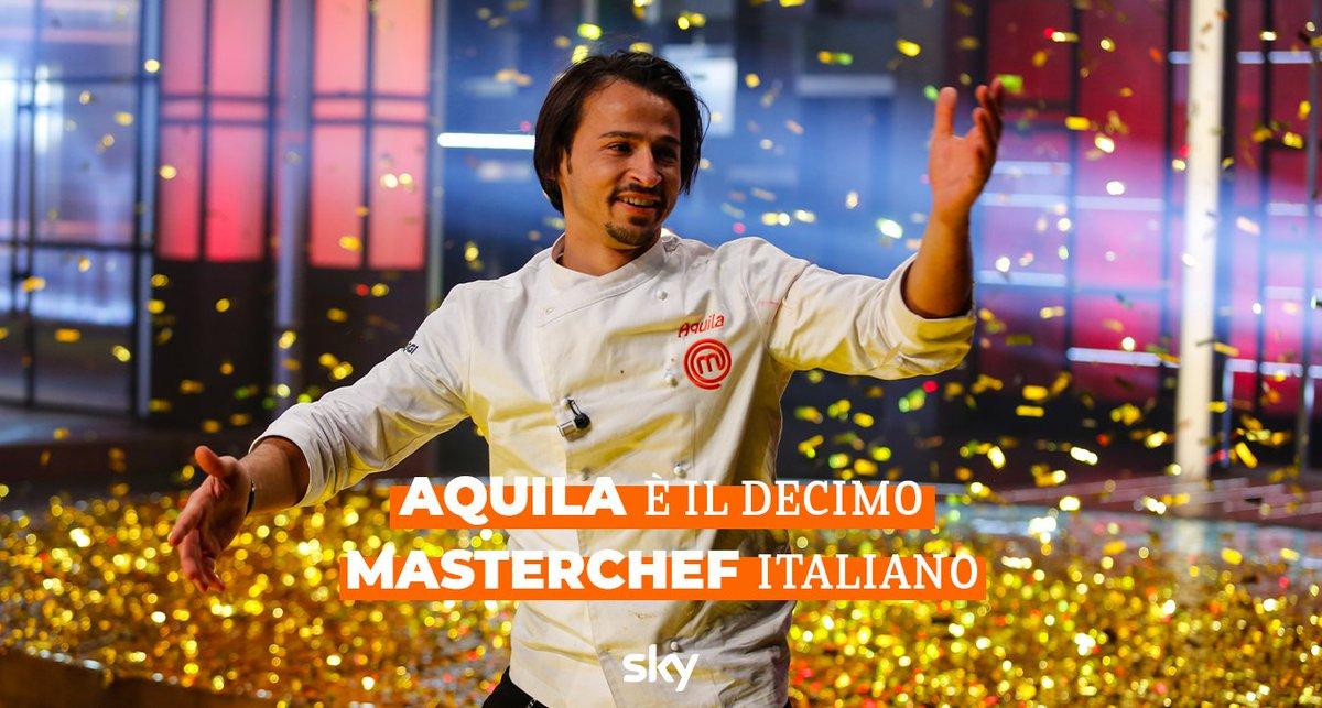 MasterChef Italia ha incoronato il suo decimo trionfatore... Aquila!
