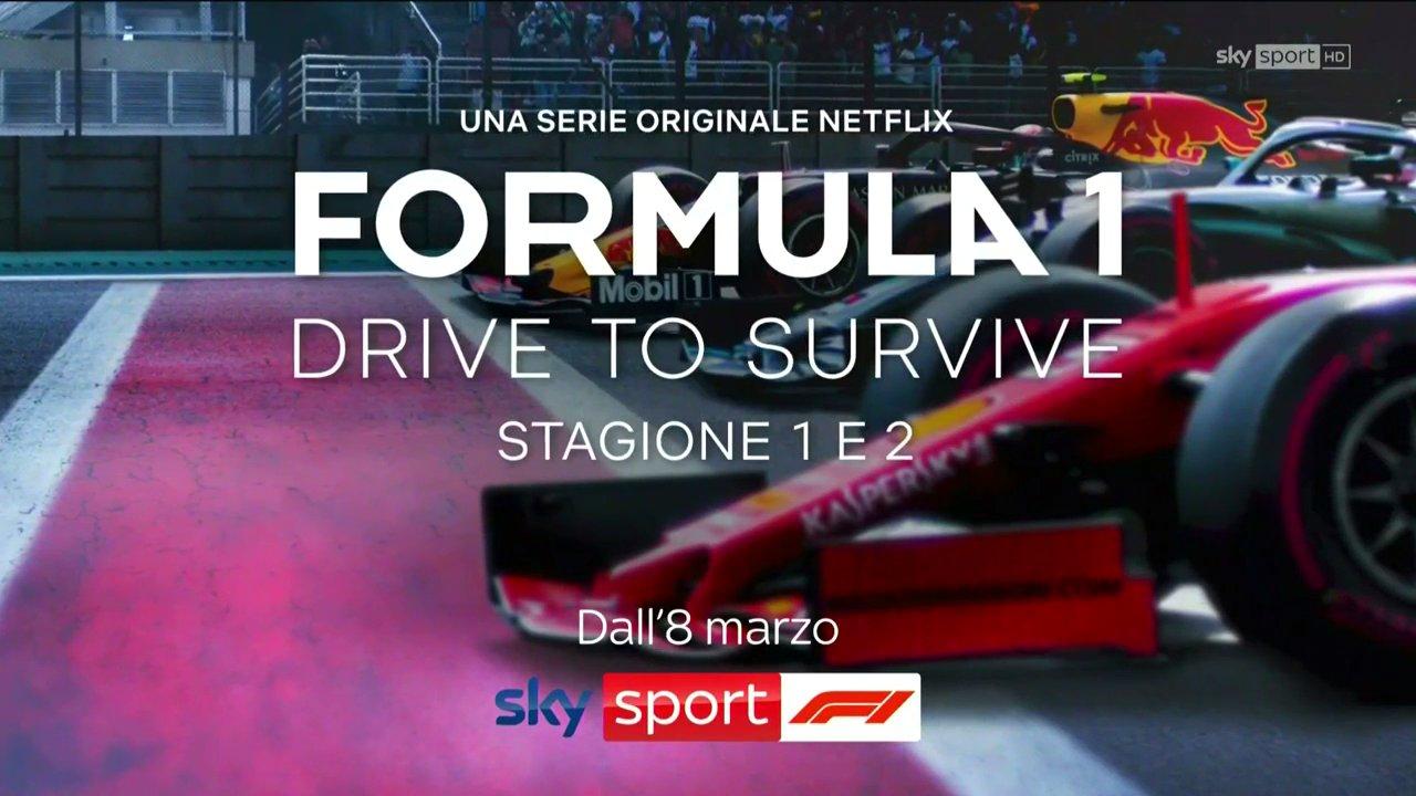 Formula 1: Drive to Survive, la serie originale Netflix arriva su Sky Sport F1