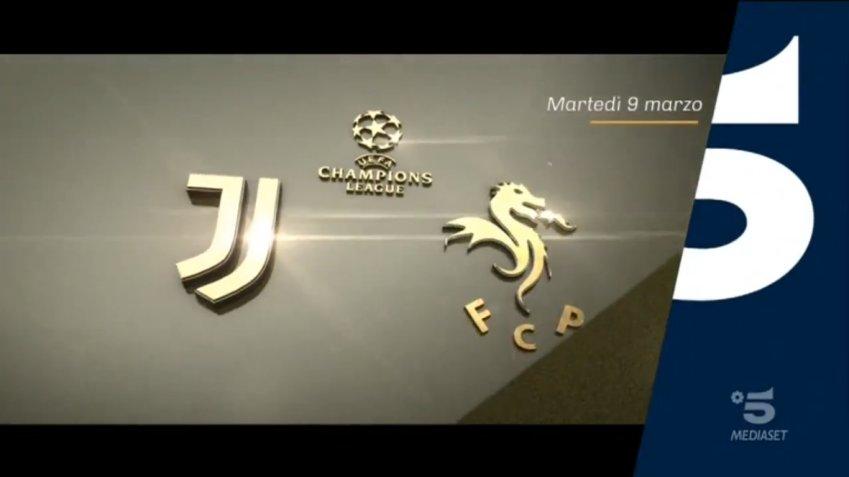 Champions, Juventus Porto Diretta Canale 5, Telecronisti Sport Mediaset