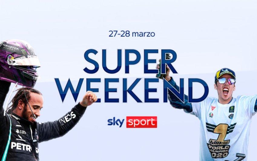 Sky Sport Super Weekend (27 e 28 Marzo) - F1 Bahrain, MotoGP Qatar, ATP Miami, NBA