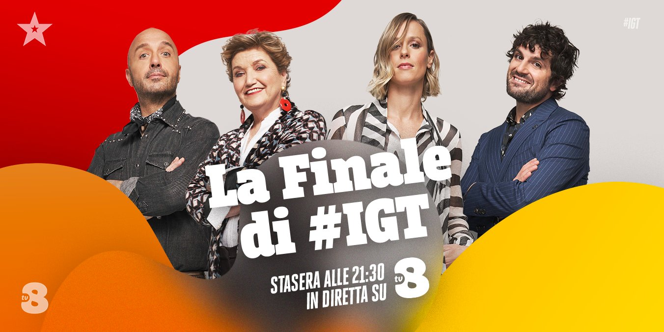 In diretta su TV8 e Sky Uno la finalissima di Italia's Got Talent 2021