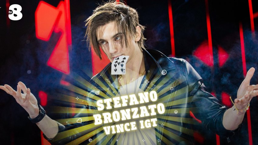 Il mago Stefano Bronzato vince su TV8 e Sky Uno Italia's Got Talent 2021