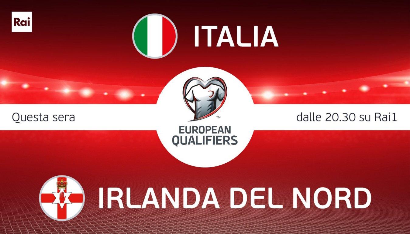 Qualificazioni Mondiali 2022, Italia - Irlanda del Nord (diretta Rai 1)