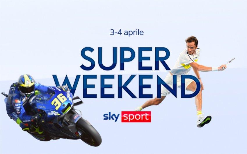 Sky Sport Super Weekend (3 e 4 Aprile) - MotoGP, Tennis, NBA, Bundesliga, Premier