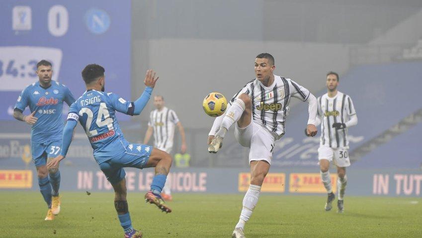 Serie A, Recupero Juventus - Napoli (diretta esclusiva Sky Sport)