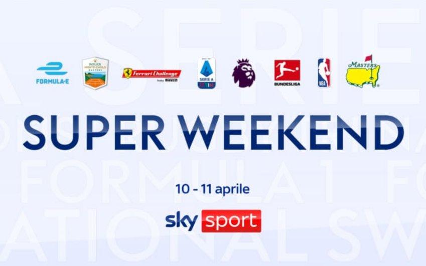 Su Sky Sport domenica ricca di eventi, con Split Screen non perdi niente!