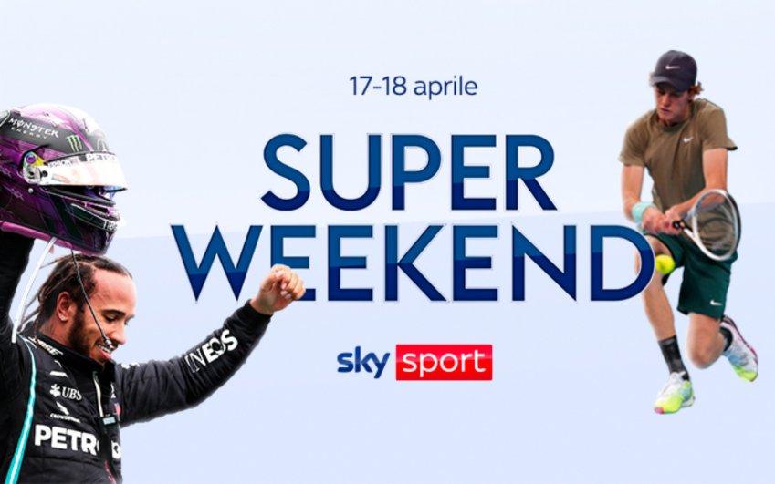 Sky Sport Super Weekend (17/18 Aprile) F1 Imola, MotoGP Portimao, Tennis Monte-Carlo