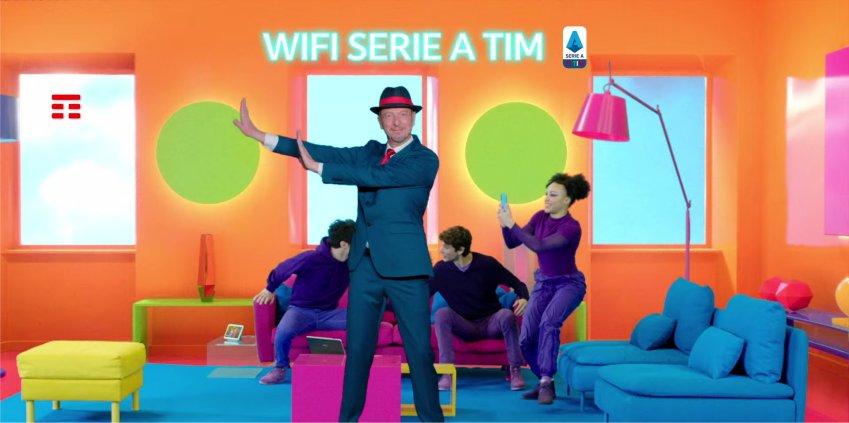 WiFi Serie A TIM, on air il nuovo spot per il calcio in streaming