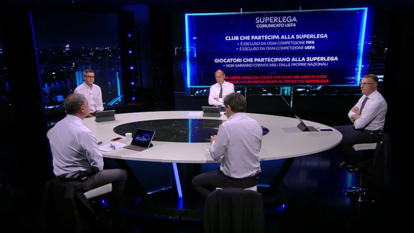 Gruppo Sky: «Non coinvolti nella discussione progetto Superlega»