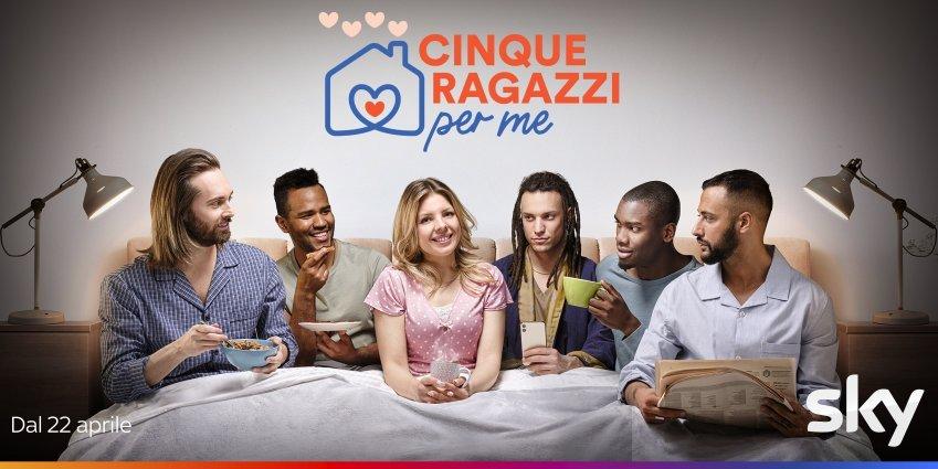 Cinque Ragazzi Per Me, il nuovo dating show su Sky e NOW