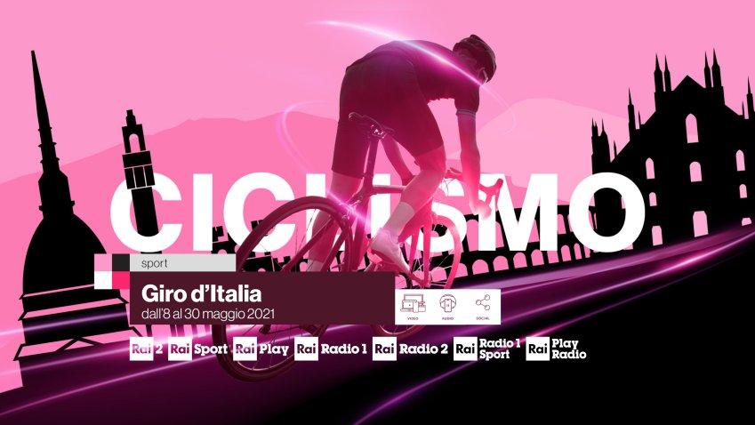 Ciclismo, Giro di Italia 2021 su Rai Sport in diretta no stop