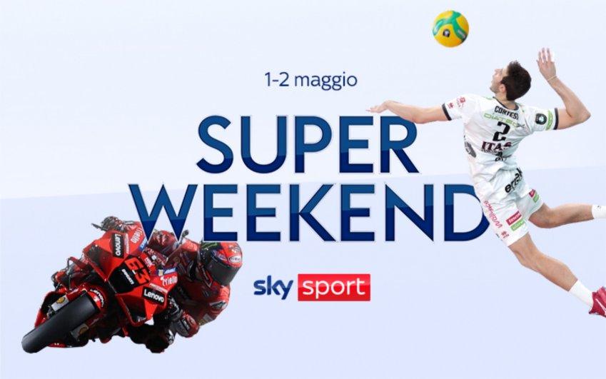Sky Sport Super Weekend (1 e 2 Maggio) - Volley Finals, F1 Portimao, MotoGP Jerez