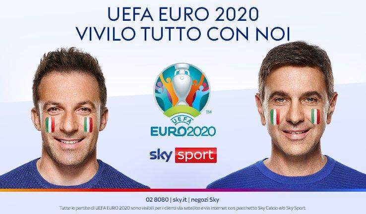 Sky Sport, in onda la nuova campagna dedicata a Uefa Euro 2020