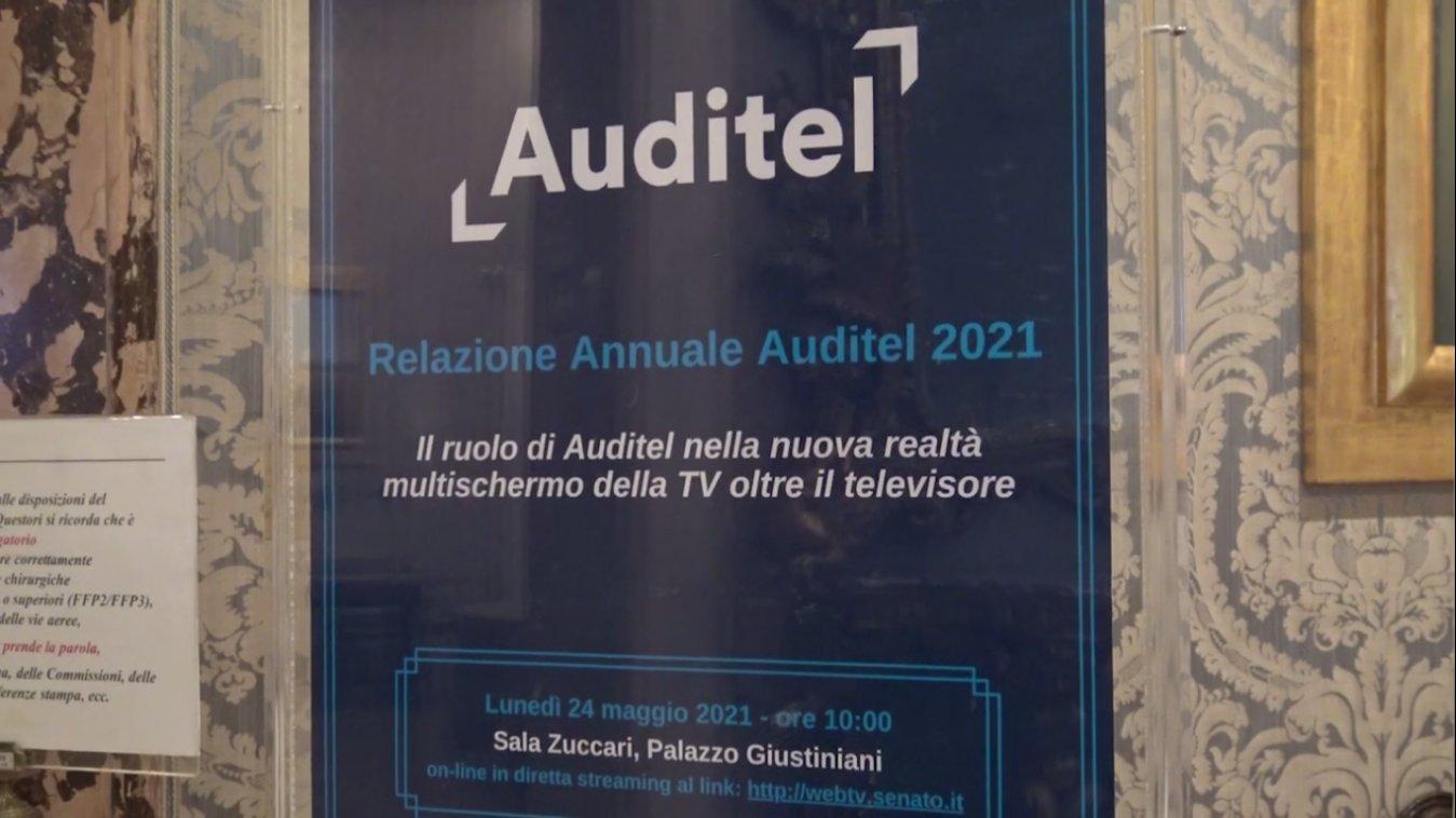 Relazione annuale Auditel 2021, boom streaming ma tante famiglie senza web