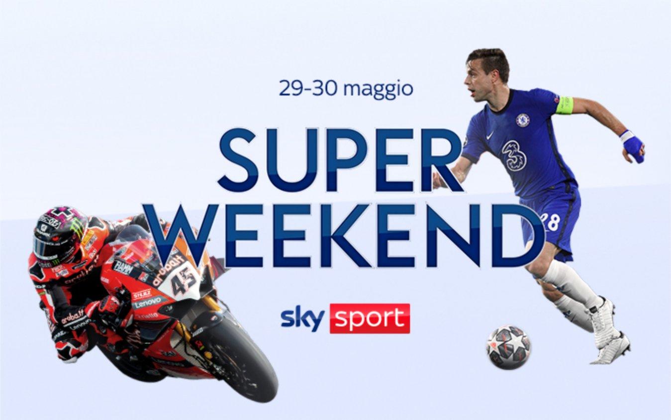 Sky Sport Super Weekend (29 e 30 Maggio) - Finale Champions, MotoGP, NBA, SuperBike