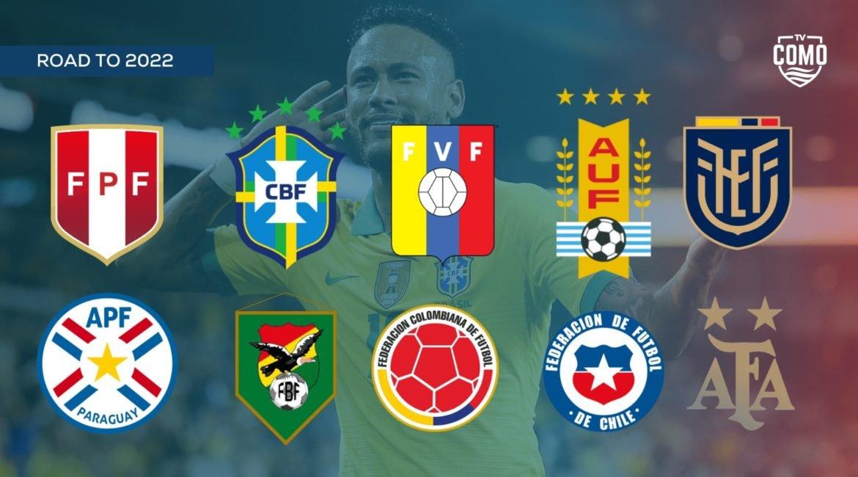 Tornano su Como TV le qualificazioni Sudamerica Mondiali 2022 (7a e 8a giornata)