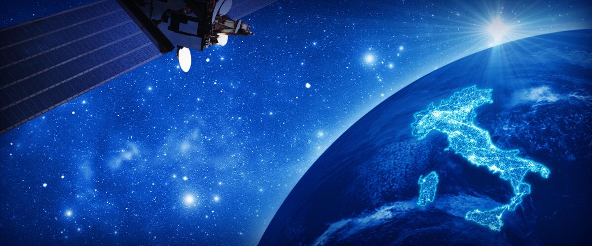 TIM, al via la sperimentazione del servizio internet satellitare fino a 100 Mega